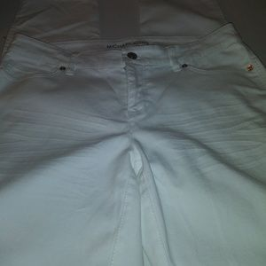 Michael Kors Winter White Jeans Size 4